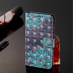 Недорогие Чехлы и кейсы для Xiaomi-Кейс для Назначение Xiaomi Mi 8 / Mi 6X Кошелек / Бумажник для карт Чехол Цветы Твердый Кожа PU для Xiaomi Redmi Note 5 Pro / Xiaomi Mi Mix 2S / Xiaomi Mi 8