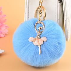 preiswerte Schlüsselanhänger-Schlüsselanhänger Grün / Blau / Rosa Aleación Voiles und Sheers, Süß Für Geschenk / Verabredung