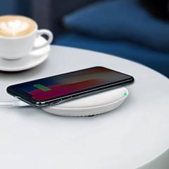 abordables Gadgets para Samsung-promocionales hq-s 10w rápido qi inalámbrico móvil / cargador de teléfono celular / puerto de alimentación / pad / estación / cargador para iphone / samsung / nokia / motorola / sony / huawei / xiaomi
