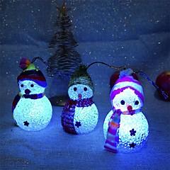 abordables Decoración del Hogar-Decoraciones de vacaciones Año Nuevo / Decoraciones Navideñas Luces de Navidad / ornamentos de Navidad Fiesta / Decorativa Transparente 2pcs