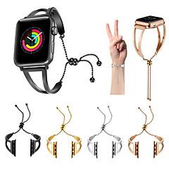 abordables Correas para Apple Watch-Ver Banda para Apple Watch Series 3 / 2 / 1 Apple Correa Deportiva Acero Inoxidable Correa de Muñeca