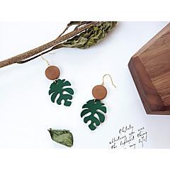 preiswerte Ohrringe-Damen Vintage Stil Stilvoll Kreolen Ohrring - Blattform damas, Ethnisch, Modisch Schmuck Braun Für Alltag Ausgehen / 1 Paar