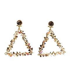 preiswerte Ohrringe-Damen Kristall Vintage Stil / Stilvoll Tropfen-Ohrringe - Urlaub, nette Art, Mehrfarbig Gold Für Maskerade / Verabredung