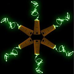 preiswerte Ausgefallene LED-Beleuchtung-BRELONG® 5 Stück Weinflaschenverschluss LED-Nachtlicht Warmes Weiß / Weiß / Rot Knopf Batteriebetrieben Kreativ / Hochzeit / Dekoration <5 V