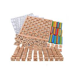 abordables Kid tablet-Número Nuevo diseño De madera Todo Niños / Niño Regalo 1 pcs