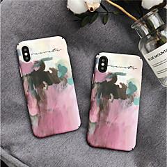 Недорогие Кейсы для iPhone 7 Plus-Кейс для Назначение Apple iPhone X / iPhone 8 С узором Кейс на заднюю панель Масляный рисунок Твердый ПК для iPhone X / iPhone 8 Pluss / iPhone 8