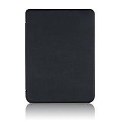 お買い得  その他のケース-ケース 用途 BLU kobo clara HD 耐衝撃 / オートスリープ / ウェイクアップ フルボディーケース ソリッド ハード PUレザー のために kobo clara HD