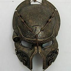 abordables Decoración del Hogar-Decoraciones de vacaciones Decoraciones de Halloween Máscaras de Halloween Fiesta / Cool Dorado / Plata 1pc