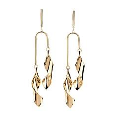 preiswerte Ohrringe-Damen Vintage Stil / Stilvoll Tropfen-Ohrringe - versilbert Einzigartiges Design, Natur, Hippie Gold Für Maskerade / Arbeit