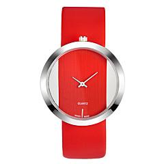 preiswerte Damenuhren-Damen Armbanduhr Quartz Armbanduhren für den Alltag Leder Band Analog Freizeit Modisch Elegant Schwarz / Weiß / Blau - Rot Blau Rosa Ein Jahr Batterielebensdauer / SSUO LR626