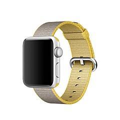 preiswerte Herrenuhren-Nylon Uhrenarmband Gurt für Apple Watch Series 3 / 2 / 1 Blau / Orange / Grau 23cm / 9 Zoll 2.1cm / 0.83 Inch