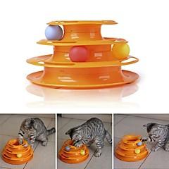 お買い得  猫用おもちゃ-インタラクティブ / おもちゃ / タグ ペットフレンドリー / パータブル / 多層 プラスチック 用途 猫用