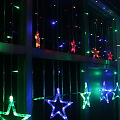 preiswerte LED Lichtstreifen-2m Leuchtgirlanden 138 LEDs Mehrfarbig Dekorativ / bezaubernd 220-240 V 1 set