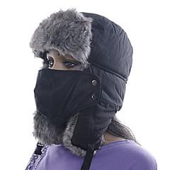 abordables Ropa de Senderismo-Esquí Máscara de protección contra la polución / Sombrero Hombre / Mujer Mantiene abrigado Tabla de Snowboard Poliéster Deportes de Invierno Invierno