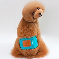 お買い得  犬用ウェア&アクセサリー-犬用 / 猫用 パンツ 犬用ウェア ソリッド グリーン / ブルー / ピンク コットン コスチューム ペット用 女性 ユニーク