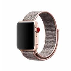 preiswerte Herrenuhren-Nylon Uhrenarmband Gurt für Apple Watch Series 3 / 2 / 1 Schwarz / Silber / Orange 23cm / 9 Zoll 2.1cm / 0.83 Inch