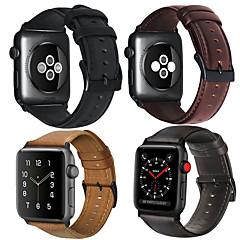 abordables Accesorios para Apple Watch-Ver Banda para Apple Watch Series 4/3/2/1 Apple Correa de Cuero Piel / Cuero Auténtico Correa de Muñeca
