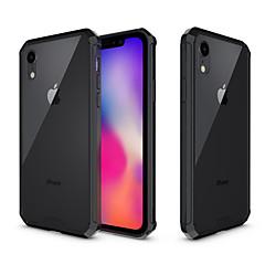 Недорогие Кейсы для iPhone 7 Plus-Кейс для Назначение Apple iPhone XR / iPhone XS Max Защита от удара / Полупрозрачный Кейс на заднюю панель Однотонный Твердый Акрил для iPhone XS / iPhone XR / iPhone XS Max