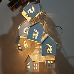 preiswerte Ausgefallene LED-Beleuchtung-1 set LED-Nachtlicht Warmes Weiß AA-Batterien angetrieben Für die Kinder / Hochzeit / Dekoration <5 V