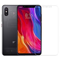 Недорогие Защитные плёнки для экранов Xiaomi-asling протектор экрана для xiaomi xiaomi mi 8 explorer закаленное стекло 1 шт. экранный протектор 9h твердость / 2.5d изогнутый край / взрывозащищенный