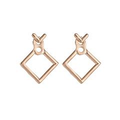 preiswerte Ohrringe-Damen Hohl Ohrstecker - Kreativ Einfach, Koreanisch, nette Art Gold / Silber Für Geschenk Alltag Strasse