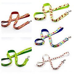 お買い得  犬用首輪/リード/ハーネス-犬用 / 猫用 リード 携帯用 / 折り畳み式 カラーブロック / クリスマス ナイロン ホワイト / グリーン / ブルー
