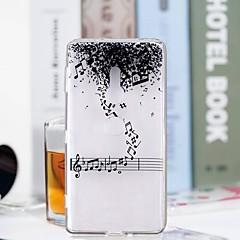 Недорогие Чехлы и кейсы для Sony-Кейс для Назначение Sony Xperia XZ2 Compact / Xperia XZ2 Прозрачный / С узором Кейс на заднюю панель Слова / выражения Мягкий ТПУ для Huawei P20 / Huawei P20 Pro / Huawei P20 lite