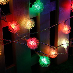 お買い得  LED ストリングライト-6m ストリングライト 56 LED マルチカラー 220-240 V 1セット