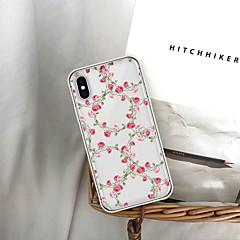 Недорогие Кейсы для iPhone 6-Кейс для Назначение Apple iPhone XS / iPhone 6 С узором Кейс на заднюю панель Цветы Мягкий ТПУ для iPhone XS / iPhone XR / iPhone XS Max