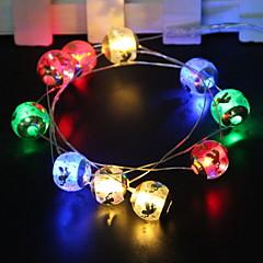 お買い得  LED ストリングライト-1.5m ストリングライト 10 LED マルチカラー 新デザイン / 装飾用 / クール 単3乾電池