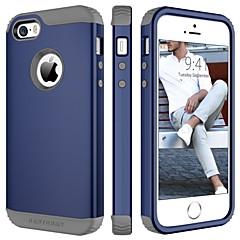 abordables Coques d'iPhone-Etui bentoben pour apple iphone 5 Etui rigide antichoc, de couleur unie, tpu / pc dur pour iphone se / 5s / iphone 5