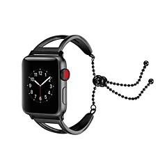 お買い得  腕時計ベルト-ステンレス 時計バンド ストラップ のために Apple Watch Series 3 / 2 / 1 ブラック / シルバー / ゴールド 23センチメートル / 9インチ 2.1cm / 0.83 Inch
