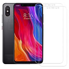 Недорогие Защитные плёнки для экранов Xiaomi-asling протектор экрана для xiaomi xiaomi mi 8 explorer закаленное стекло 2 шт. защита переднего экрана 9ч. твердость / 2.5d изогнутый край / взрывозащита