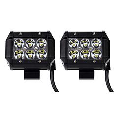 abordables Iluminación para Vehículos Industriales-KAWELL 2pcs SUV / ATV / Tractor Bombillas 18 W 1260 lm 6 LED Luz de Trabajo