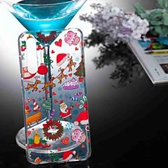 お買い得  Huawei Pシリーズケース/ カバー-ケース 用途 Huawei P20 lite / P10 Lite クリア / パターン バックカバー クリスマス ソフト TPU のために Huawei P20 / Huawei P20 Pro / Huawei P20 lite