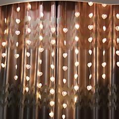 preiswerte LED Lichtstreifen-2m Leuchtgirlanden 78 LEDs Warmes Weiß Dekorativ 220-240 V 1 set