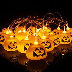 preiswerte LED Lichtstreifen-1.5 Leuchtgirlanden 10 LEDs Warmes Weiß Dekorativ AA-Batterien angetrieben 1 set