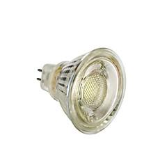 お買い得  LED 電球-1個 5 W 450 lm MR16 LEDスポットライト T45 1 LEDビーズ COB クリスマスウェディングデコレーション 温白色 / ホワイト 12 V