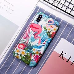 Недорогие Кейсы для iPhone 7-Кейс для Назначение Apple iPhone XR / iPhone XS Max С узором Кейс на заднюю панель Фламинго Твердый ПК для iPhone XS / iPhone XR / iPhone XS Max