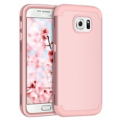 abordables Galaxy S6 Carcasas / Fundas-BENTOBEN Funda Para Samsung Galaxy S7 edge / S7 Antigolpes Funda de Cuerpo Entero Un Color Dura Silicona / ordenador personal para S7 edge / S7 / S6