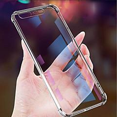 Недорогие Кейсы для iPhone X-Кейс для Назначение Apple iPhone XR / iPhone XS Max Защита от удара / Защита от пыли / Ультратонкий Кейс на заднюю панель Однотонный Мягкий ТПУ для iPhone XS / iPhone XR / iPhone XS Max