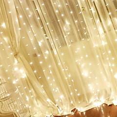 お買い得  LED ストリングライト-3M ストリングライト 304 LED 温白色 装飾用 220-240 V 1セット