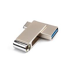 preiswerte USB Speicherkarten-16GB USB-Stick USB-Festplatte Typ-C Metal Unregelmässig Kabellose Speichergräte