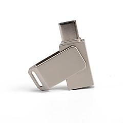 preiswerte USB Speicherkarten-32GB USB-Stick USB-Festplatte USB 2.0 / Typ-C Metal Unregelmässig Kabellose Speichergräte