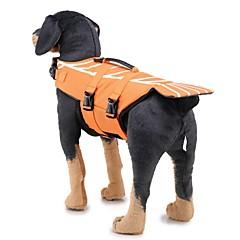 お買い得  犬用ウェア&アクセサリー-犬用 ライフジャケット 犬用ウェア 幾何学模様 / クラシック レッド / ブルー ファブリック コスチューム ペット用 男性 ユニーク / カジュアル / スポーティ