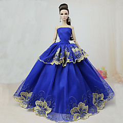 abordables Ropa para Barbies-Fiesta/Noche Vestidos por Muñeca Barbie  Poliéster Vestido por Chica de muñeca de juguete