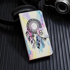 Недорогие Кейсы для iPhone-Кейс для Назначение Apple iPhone XS / iPhone XS Max Флип / С узором Чехол Ловец снов Твердый Кожа PU для iPhone XS / iPhone XR / iPhone XS Max