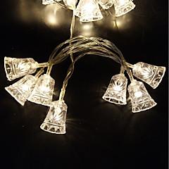 お買い得  LED ストリングライト-3M ストリングライト 30 LED Dip LED 温白色 / ホワイト / レッド 装飾用 単3乾電池 1個