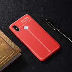 Недорогие Чехлы и кейсы для Xiaomi-Кейс для Назначение Xiaomi Xiaomi A2 / Xiaomi Redmi Note 6 Полупрозрачный Кейс на заднюю панель Однотонный Мягкий ТПУ для Xiaomi Redmi Note 5 Pro / Xiaomi Redmi Note 6 / Xiaomi Pocophone F1