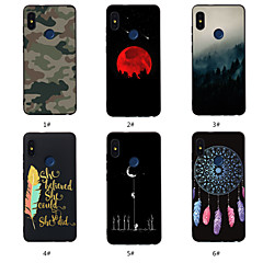cheap Cases / Covers for Xiaomi-Case For Xiaomi Redmi Note 5A / Redmi Note 5 Pro Pattern Back Cover Word / Phrase / Scenery / Dream Catcher Soft TPU for Xiaomi Redmi Note 5A / Xiaomi Redmi Note 5 Pro / Xiaomi Redmi 6 Pro